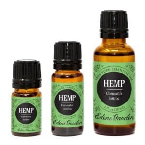hemp essential oils