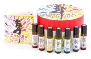 plant therapy chakra synergies roll-on set of 7 blends