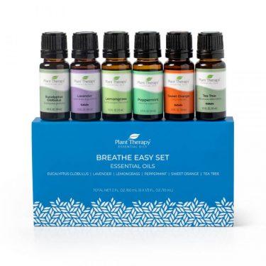 breathe easy set of essential oils