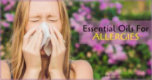 essential oils for natural allergy relief