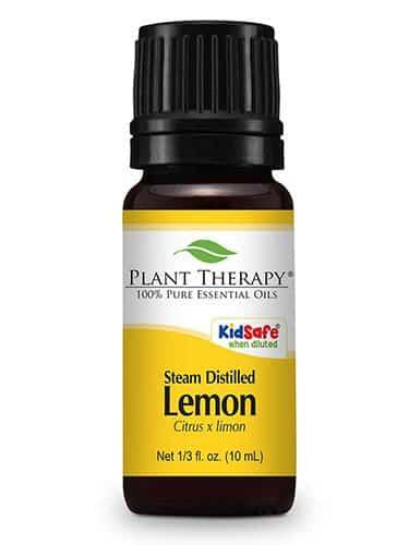steam distilled lemon essential oil