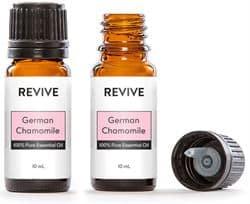 german chamomile oil bottles