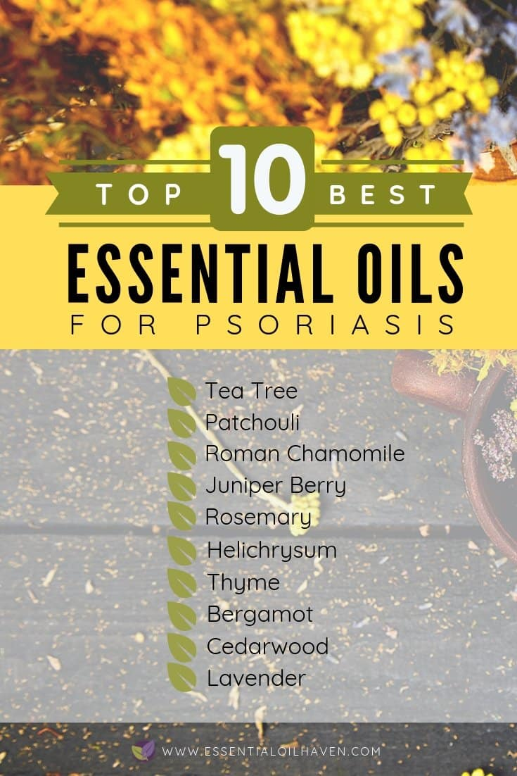 Essential Oils for Psoriasis - How To Use Essential Oils for