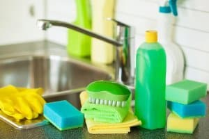 natural household cleaning items
