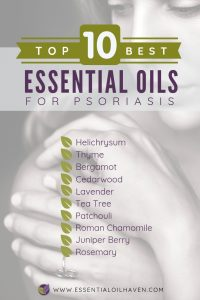 10 Essential Oils to Use for Psoriasis