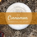 DIY Cinnamon Essential Oil Bar Soap