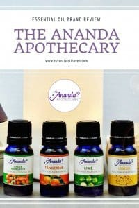 Ananda Apothecary Essential Oils Brand Review