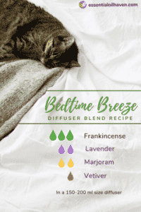 Bedtime Breeze Essential Oil Diffuser Blend