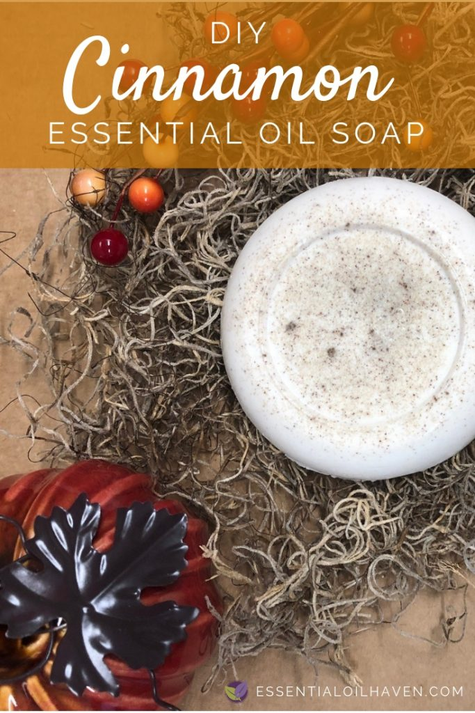 DIY Cinnamon Essential Oil Soap Recipe