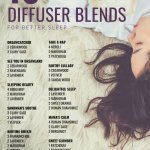 10 Diffuser Blends for Sleep