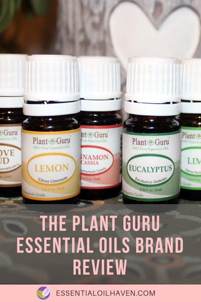 Plant Guru Essential Oils Brand Review - Are Their Oils