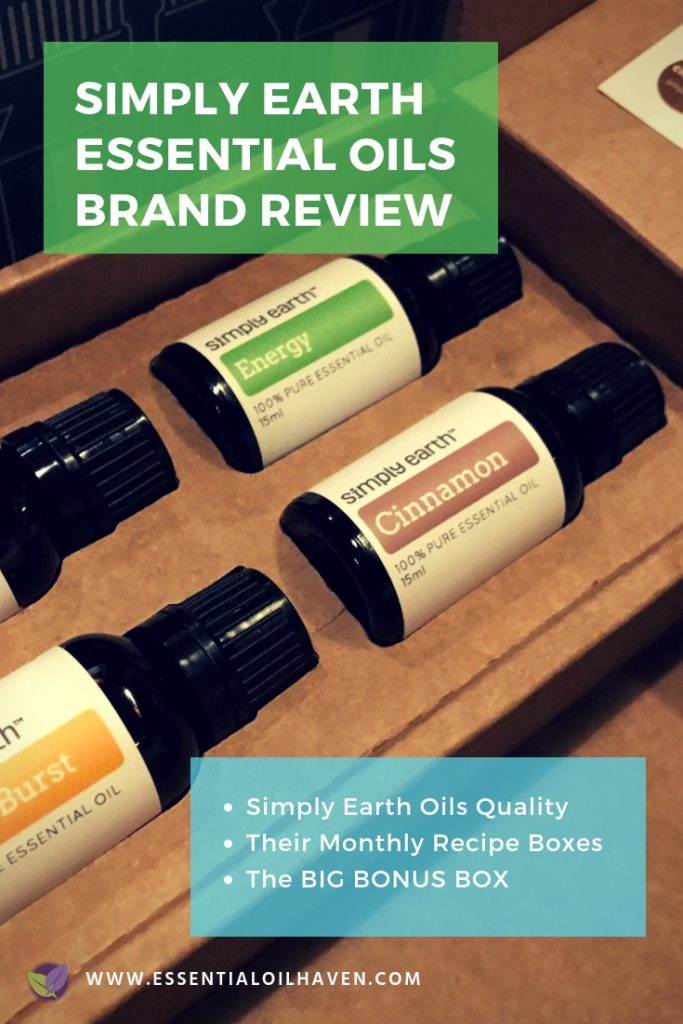 Simply Earth Essential Oils Company Review