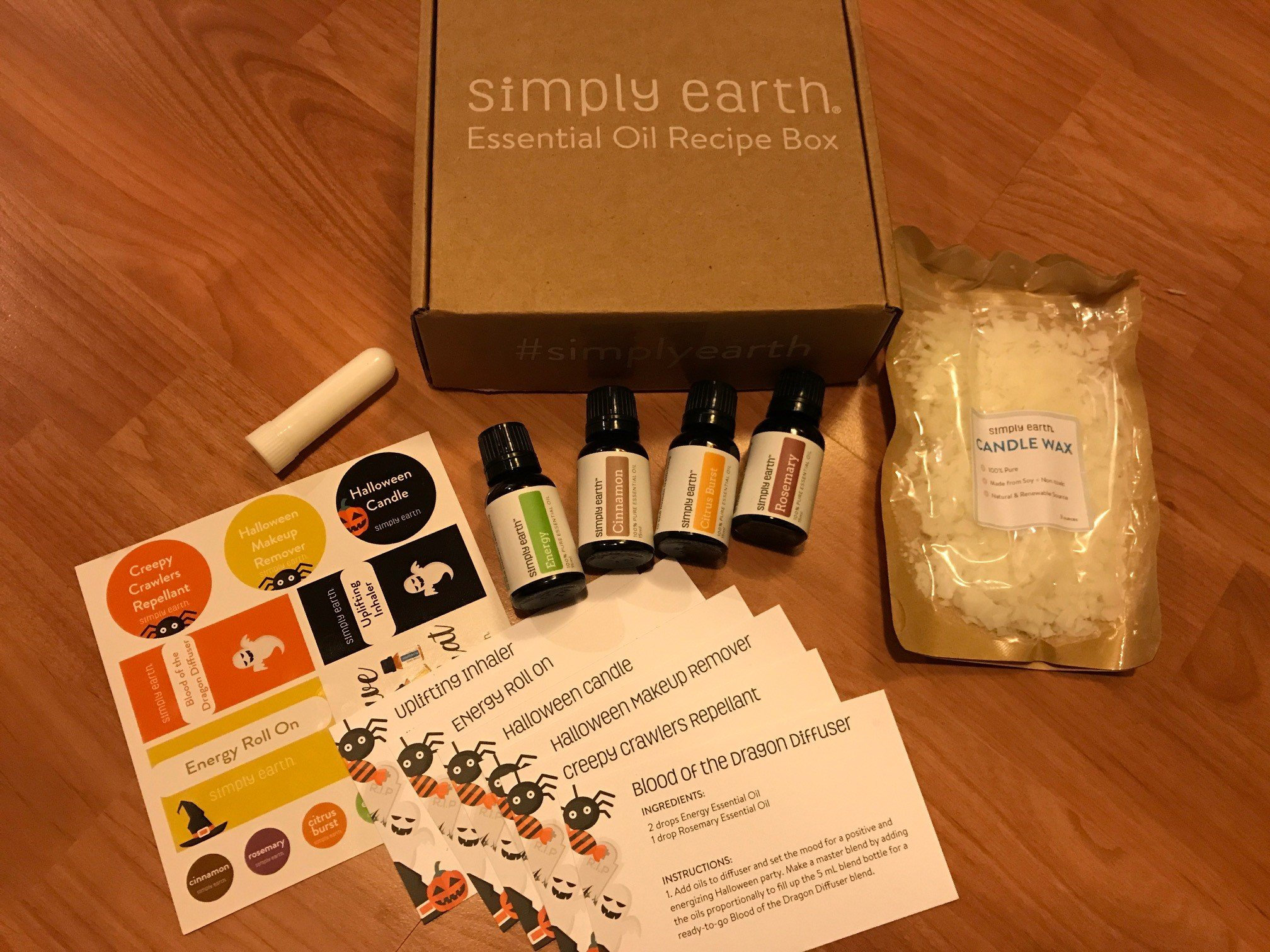 Simply Earth Subscription Box & Essential Oils Quality Review