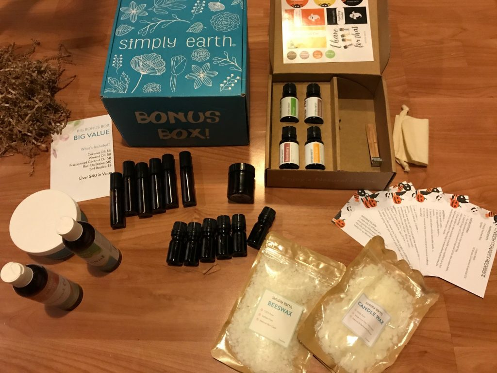 simply earth subscription box contents