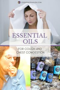 essential oils for cough and chest congestion