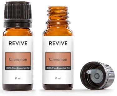 cinnamon essential oils bottles