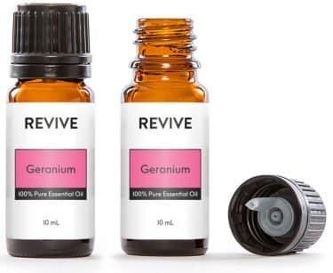 geranium oil bottle