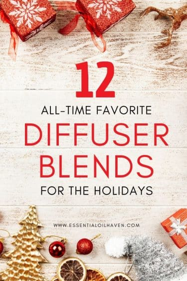 favorite christmas diffuser blends