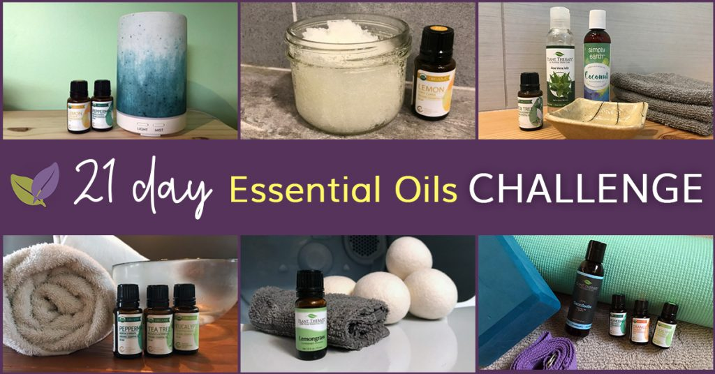 21 day essential oil challenge to use your starter kit of oils