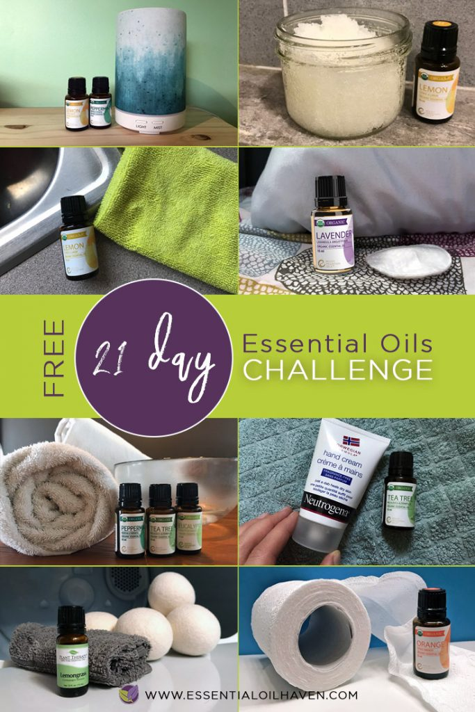 21 day essential oils challenge