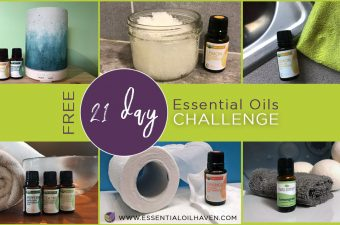 21 day essential oil challenge to use your starter kit with simple recipes for daily use