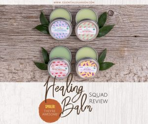 Healing Balm Squad: How to Tackle minor First Aid for the Entire Family