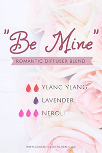 be mine romantic diffuser blend recipe