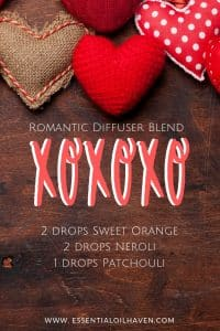 diffuser blend for romance