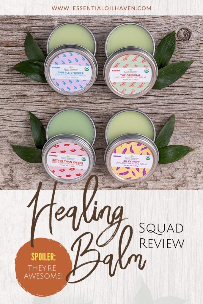 Plant Therapy's Healing Balm Squad Review