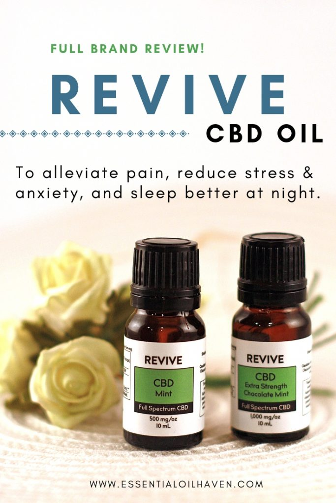 REVIVE CBD Oil Brand Review