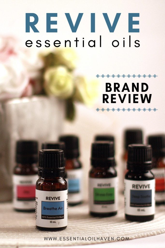 REVIVE Essential Oils Brand Review