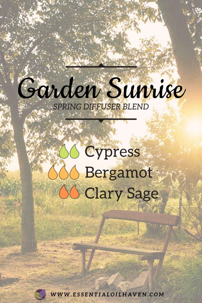 Essential Oils Diffuser Blend for Spring