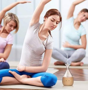 Nebulizing diffuser used in Yoga Studio