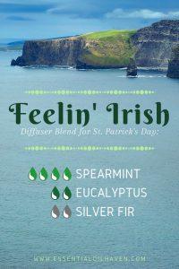 irish diffuser blend