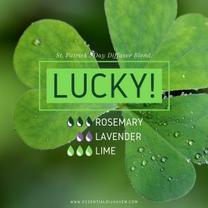 Lucky! Diffuser Blend for St. Patrick's Day