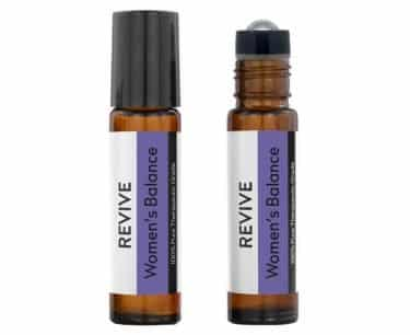 REVIVE woman's balance essential oils roller bottle