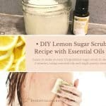 sugar scrub diy easy with essential oils