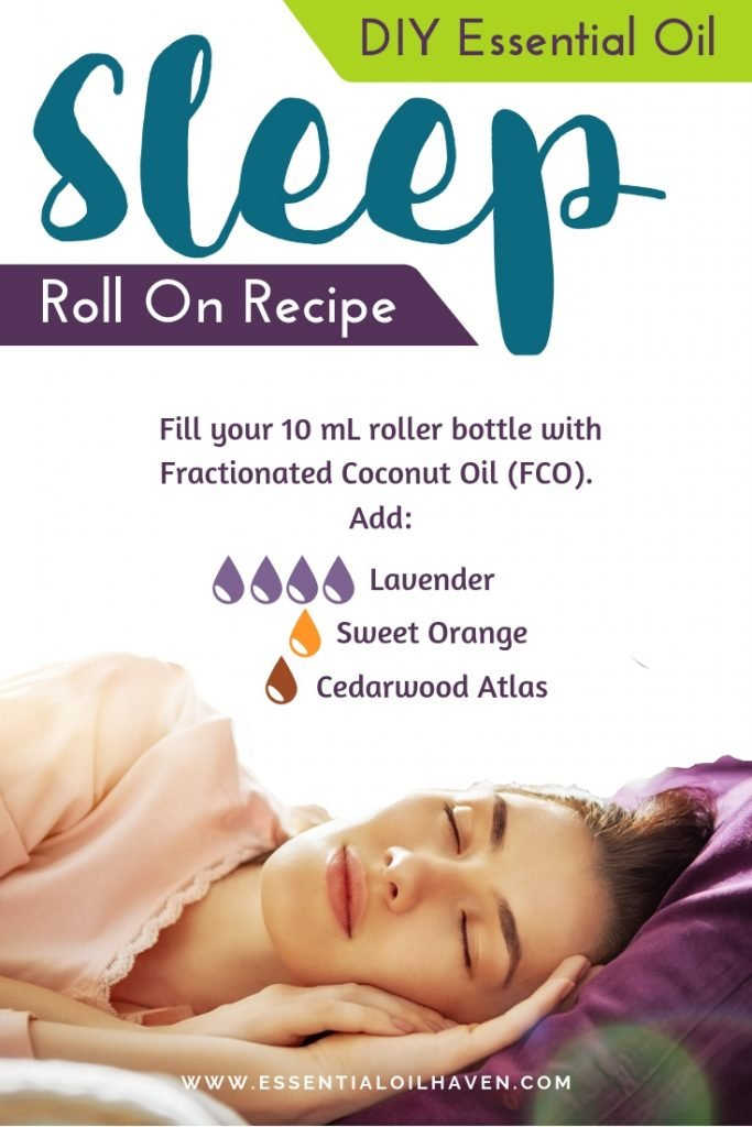 DIY Essential Oil Sleep Roller Bottle Blend
