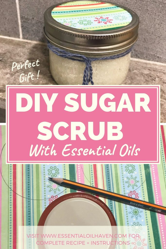 DIY Sugar Scrub Gift Instructions