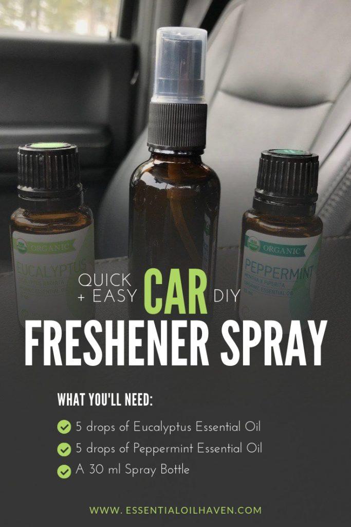 car freshener spray DIY recipe