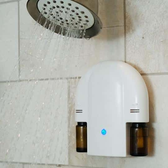 Diffuse Essential Oils in the Shower - Shower Diffuser Review