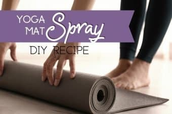essential oils yoga mat spray