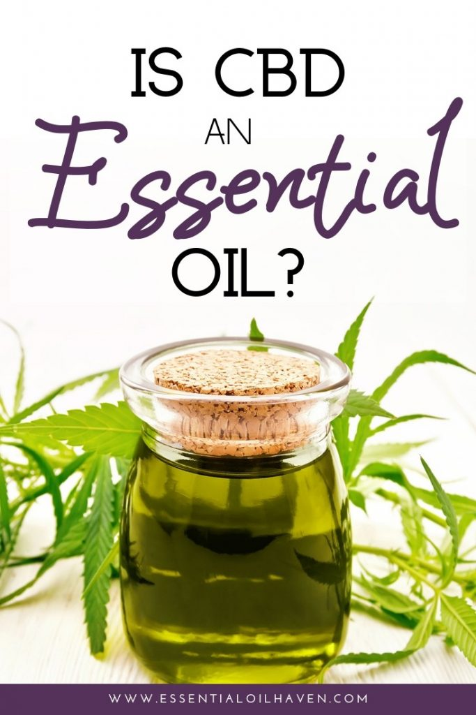 CBD oil essential oil