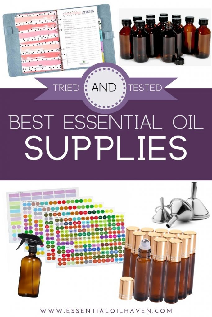 essential oil supplies for aromatherapy