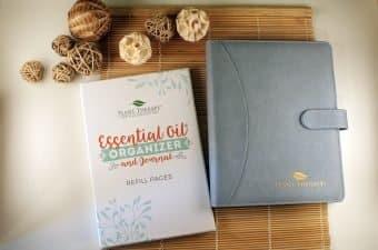 essential oil organizer journal