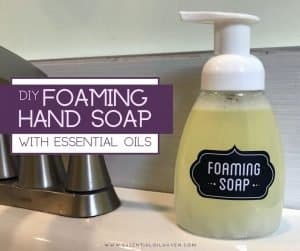 diy foaming hand soap recipe