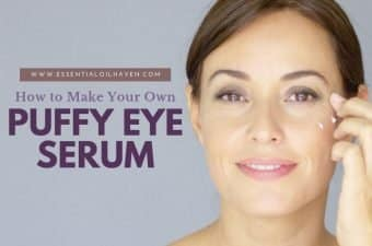 under eye serum recipe with essential oils