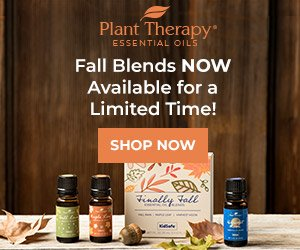 Fall Blends Available NOW at Plant Therapy!