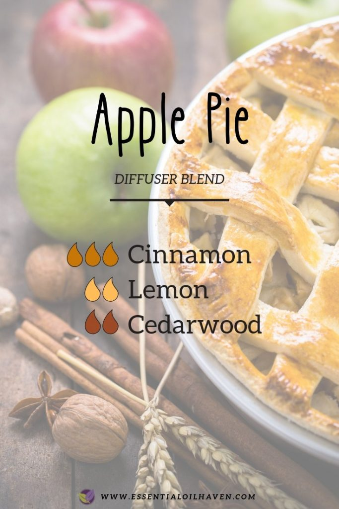 fall diffuser blend apple pie