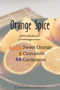 fall diffuser blend orange spice